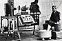 Komplette EKG-Apparatur anno 1910